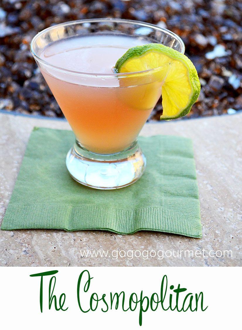 Classic Cocktails: The Cosmopolitan