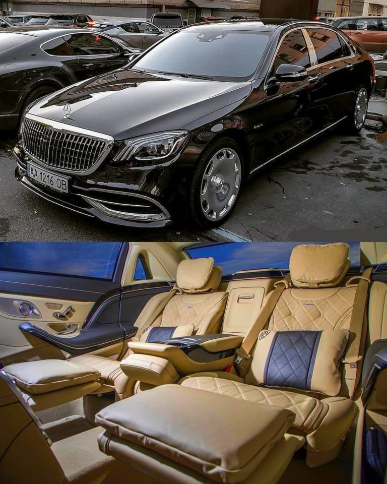 Mercedes Benz Maybach S650 In Fine Leather Interior