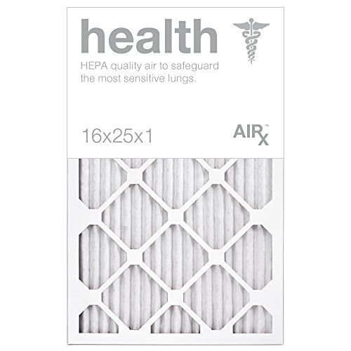 Optimal For Health Protection Airx Health 16x25x1 Air Filters Pleated 16x25x1 Merv 13 Air Filters Ac Filter Furnace Filter Hvac Filter Energy Efficient