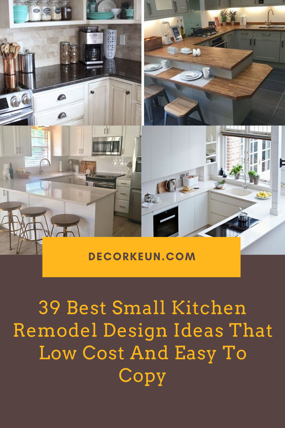 39 Best Small Kitchen Remodel Design Ideas That Low Cost