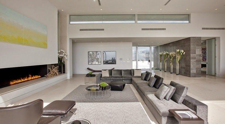 Decoraci n interior dise o minimalista estancia Quiero estudiar diseno de interiores