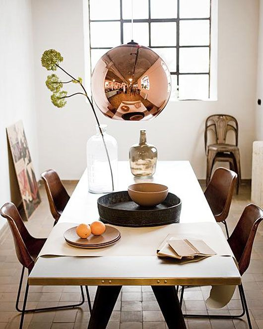 Interior Obsessions Cool Copper Paper And Stitch Trending Decor Home Decor Trends Decor