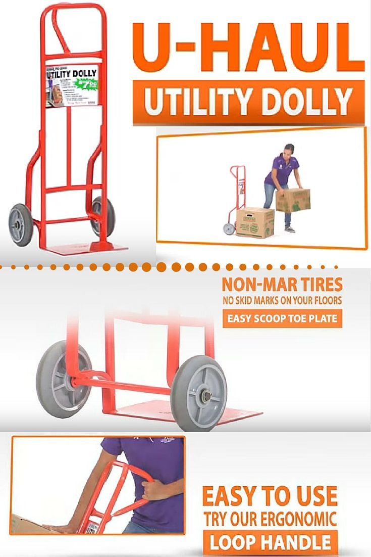 Utility Dolly Hand Truck Moving Boxes Packing To Move Moving Supplies