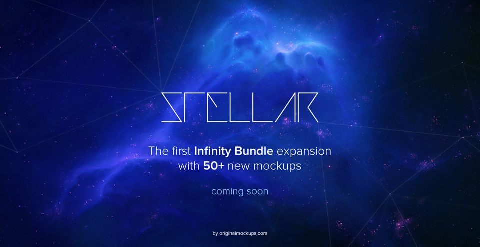 Original Mockups - Stellar will be free for Infinity customers