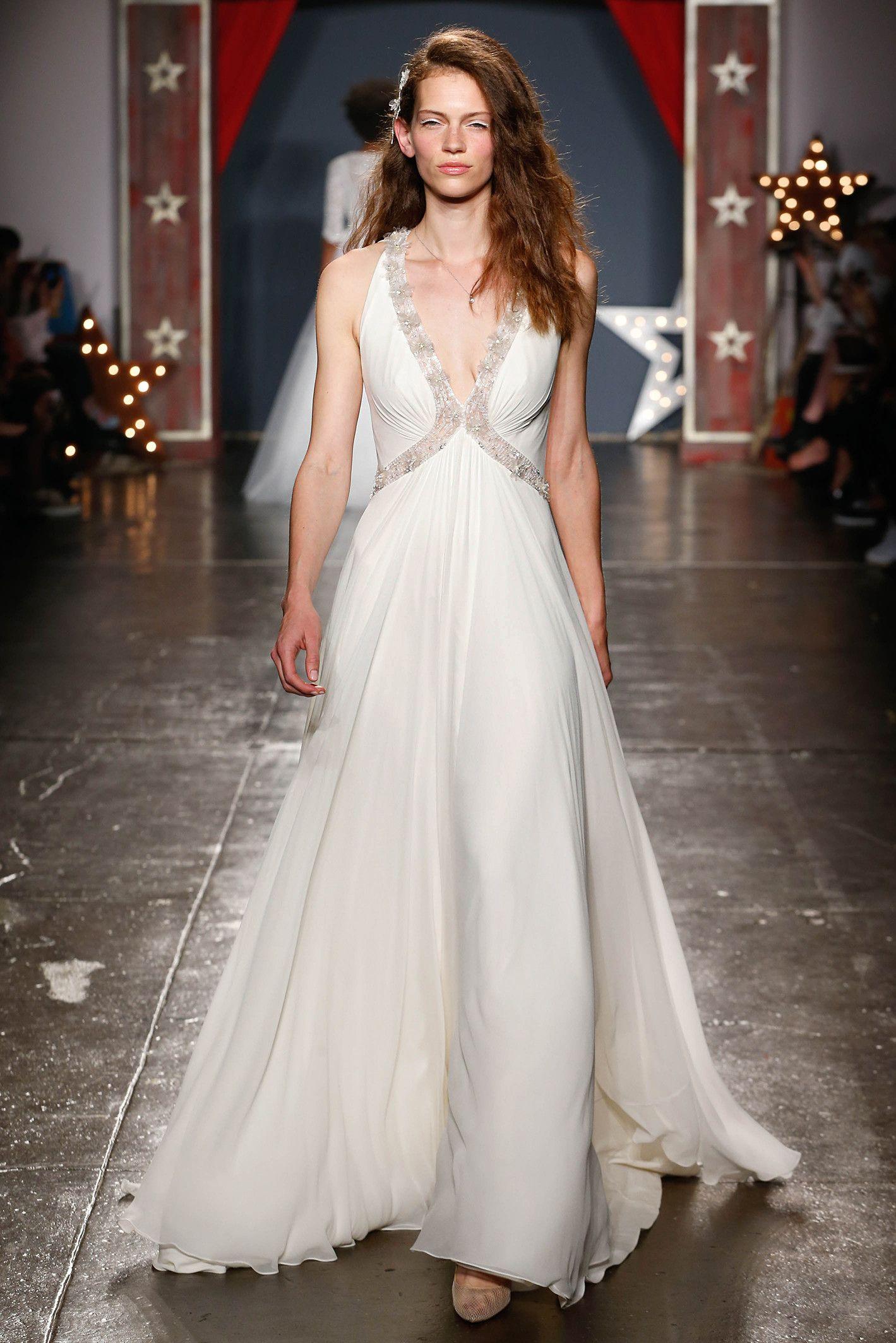 Halter style wedding dresses  Jenny Packham Spring  Wedding Dress Collection  fashion