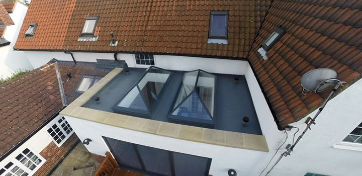 Nice Stone Coping Flat Roof Repair Roofing Flat Roof