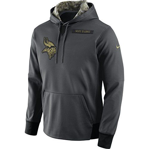 Nike Salute to Service Fleece Pullover (NFL Chargers) Men s Hoodie Size  Medium (Black) - Clearance Sale. Find this Pin and more on Cool Minnesota  Vikings ... ff4126497