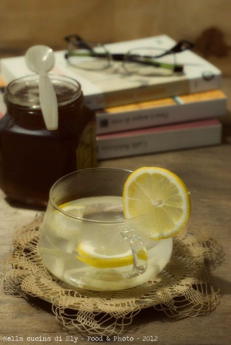 Herbal tea with lemon and ginger | Nella cucina di Ely | Pinterest ...