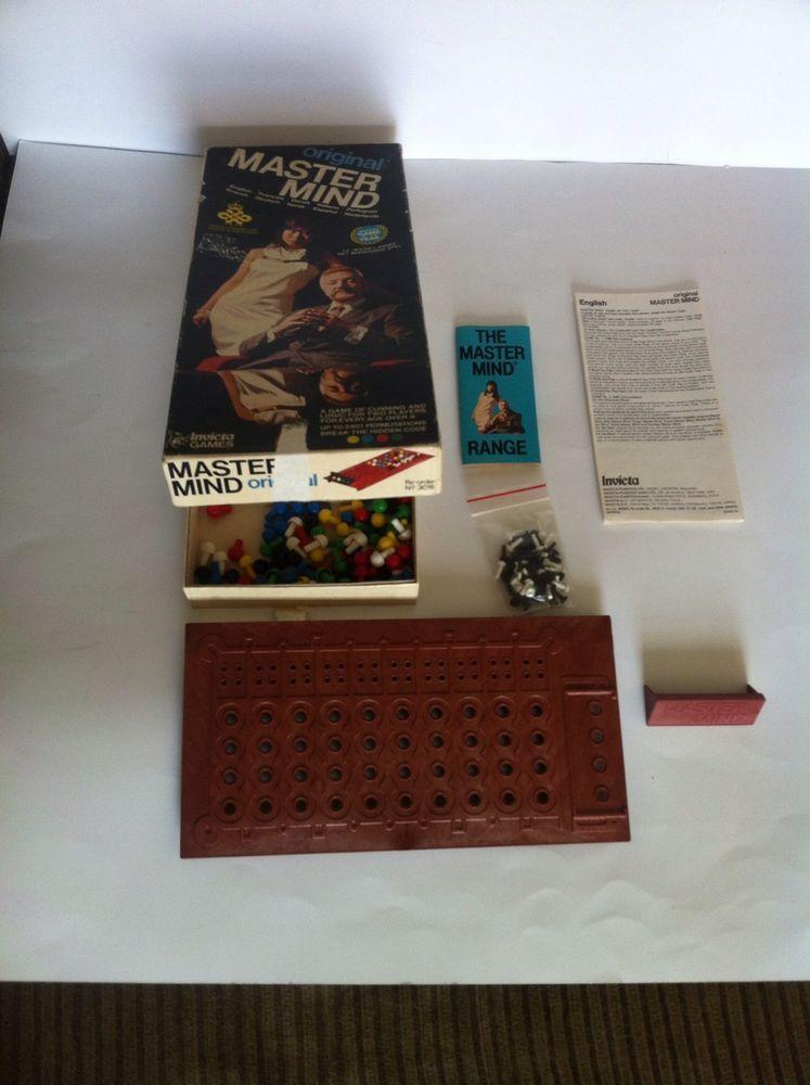 MASTER MIND Vintage 1972 Original Mastermind Game by