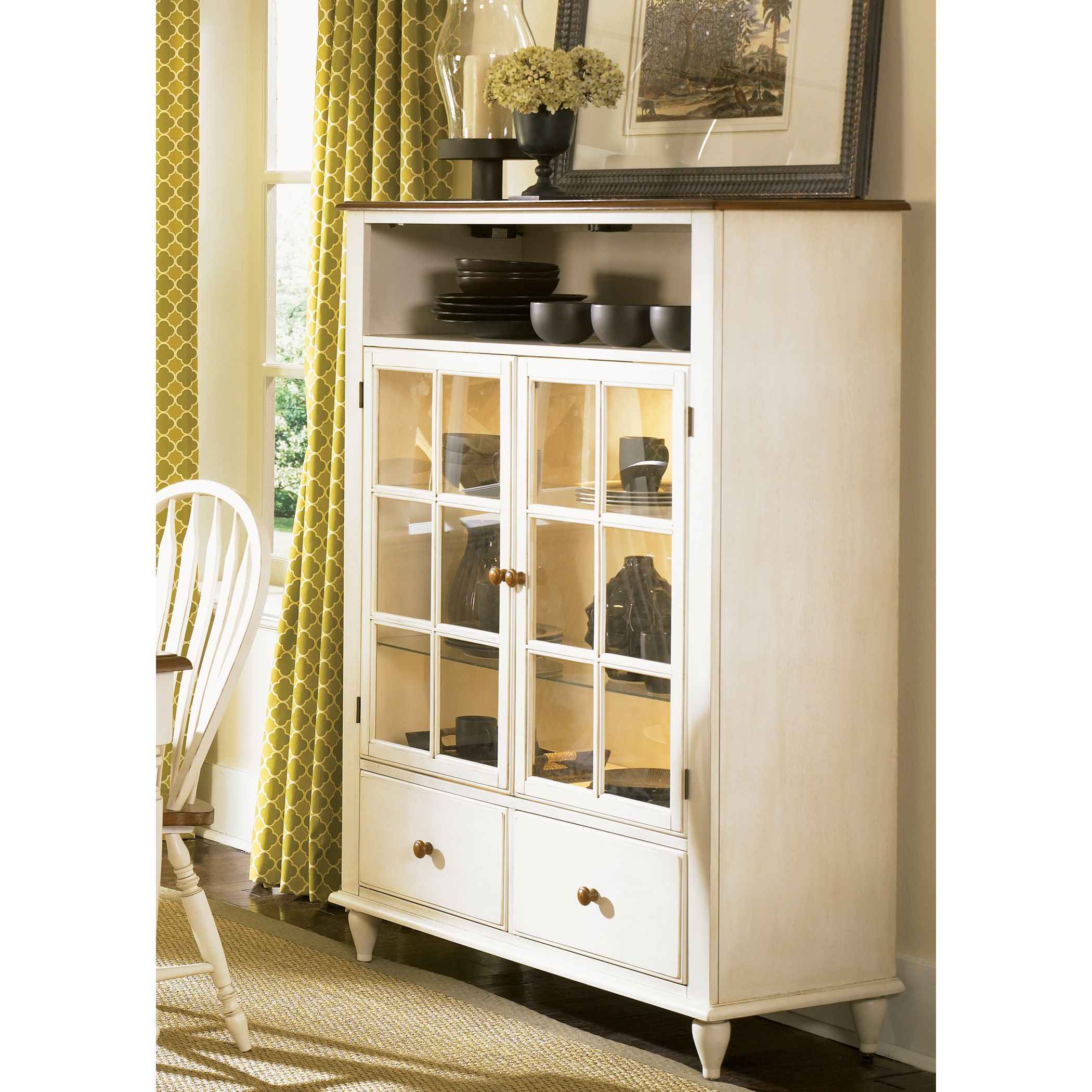 ethan allen country buffet duncan collection by pin hutches buffets and hutch discontinued new