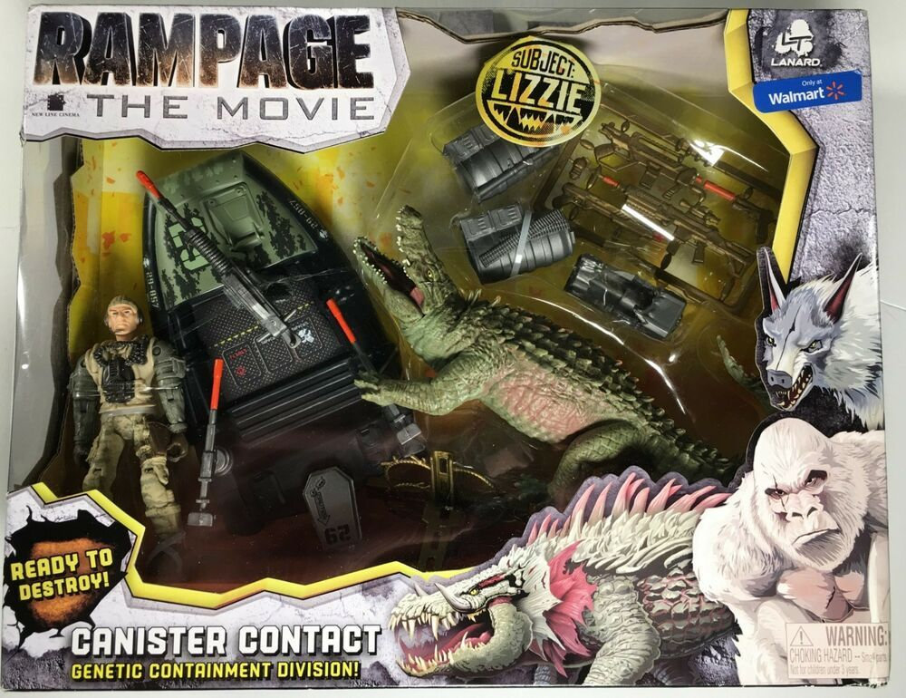 Rampage the Movie Canister Contact Lizzie