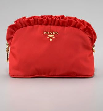 b4d29ad32616 Prada Ruffle Cosmetic Case .... if only....