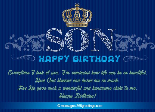Birthday Wishes For Son Inspirational Birthday Wishes Happy Birthday Son Birthday Wishes For Son