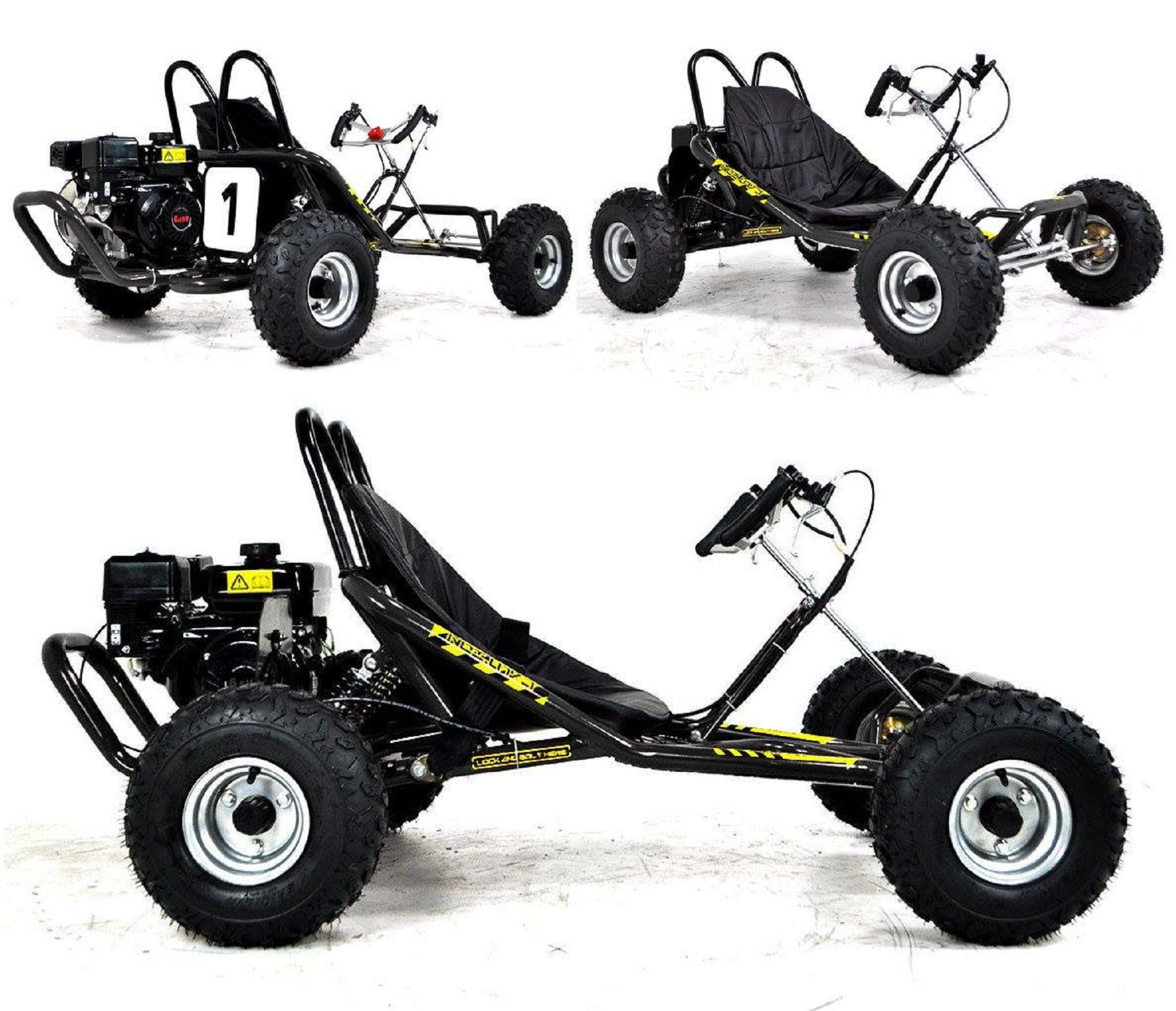 FunBikes 2015 'The Drift 2' 200cc Go Kart Wet Clutch Dune Buggy, Classified