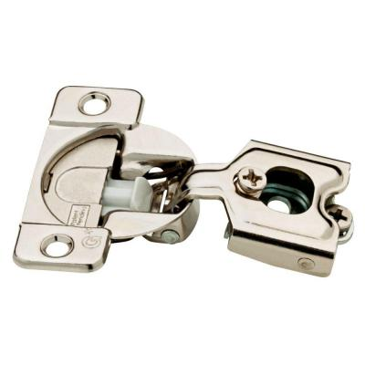 Liberty 35 Mm 105 Degree 1 2 In Overlay Soft Close Cabinet Hinge 5 Pairs H1530sl Np U1 Hinges For Cabinets Concealed Hinges Overlay Hinges