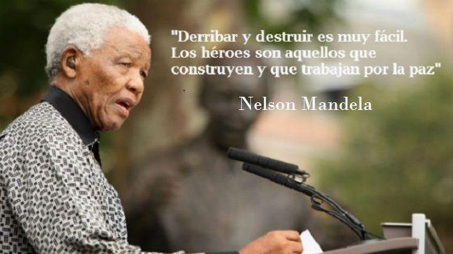 Pin De Tayira Mora Black En Paz Defensores De La Paz Motivacion Frases Paz Nelson Mandela