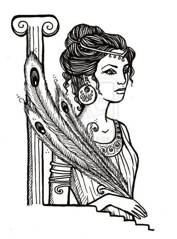Zeus Greek Mythology Hera Deusa Grega Deusa Hera Tatuagens