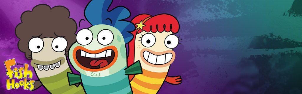 Fish Hooks 1 Disney Channel Homepage Hero Tv Movie Music And