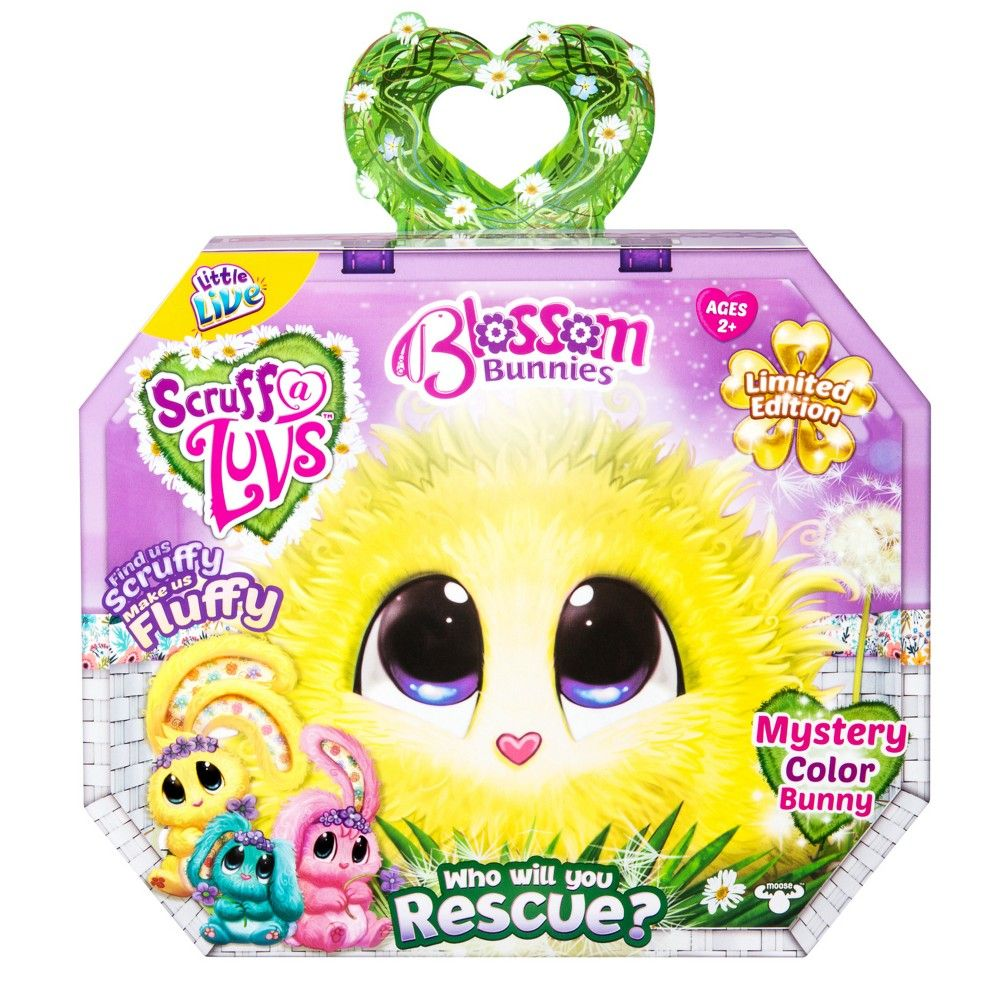 Little Live Scruff A Luvs Plush Mystery Rescue Pet Blossom