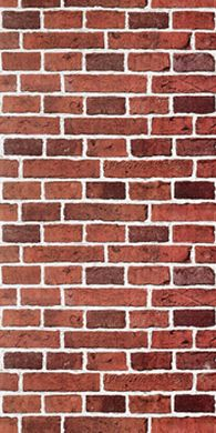 Papier Peint Briques Coloris Terracotta Papier Peint 4 Murs