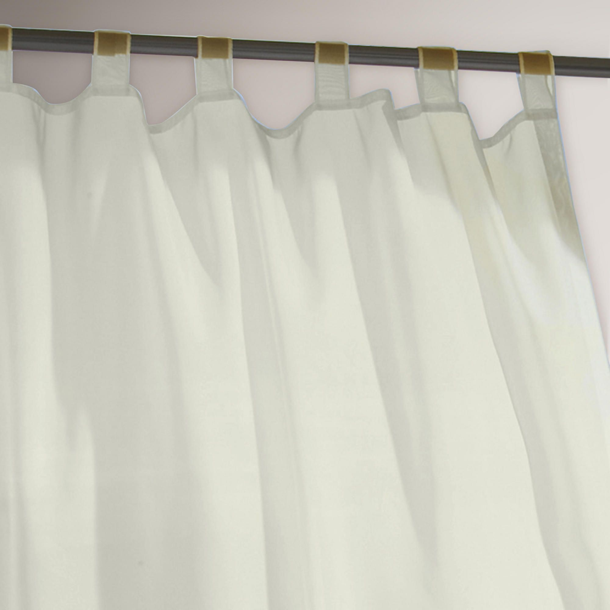 Ivory Escape Tab Top Outdoor Curtain World Market