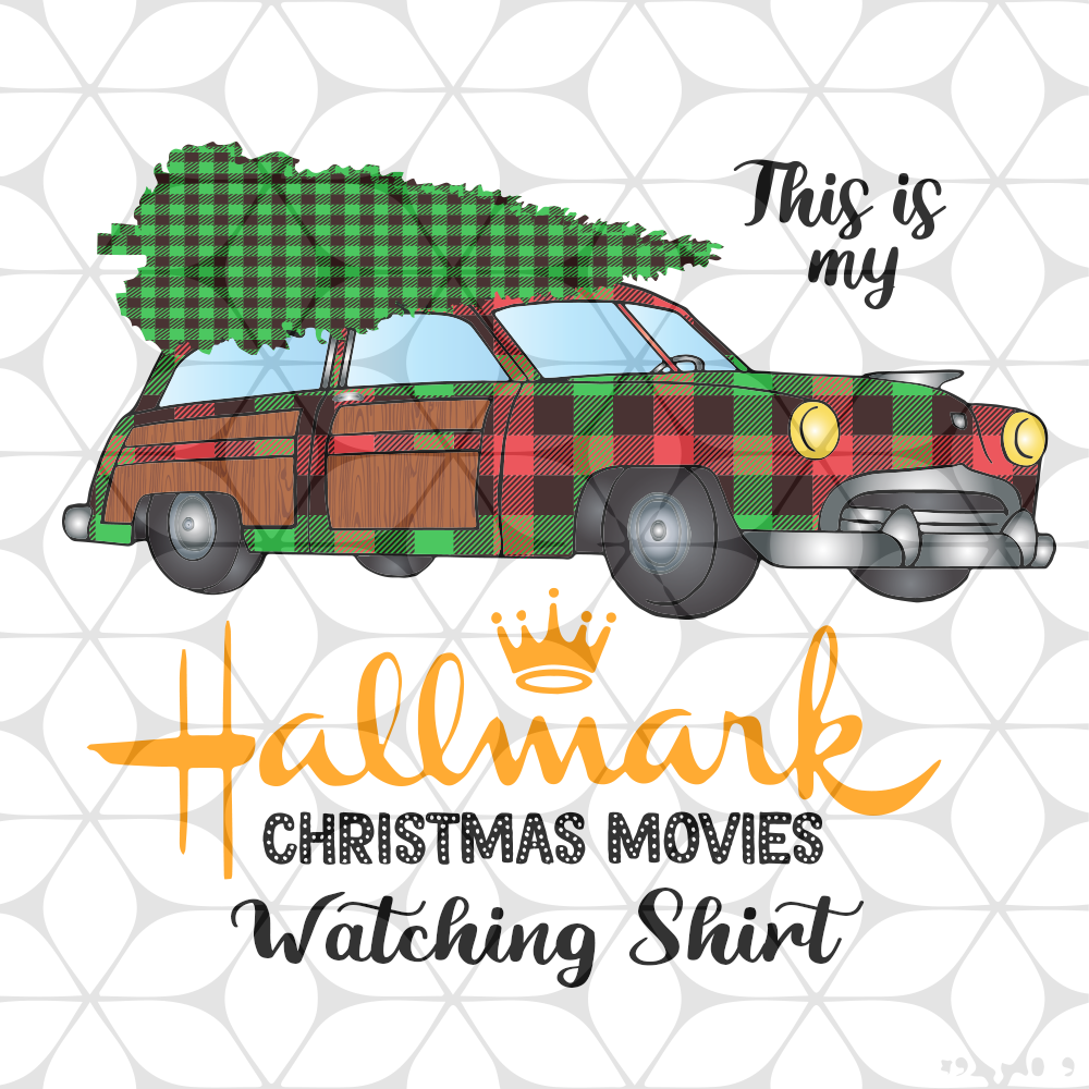 Download Free Svg This Is My Hallmark Christmas Movies File For Cricut