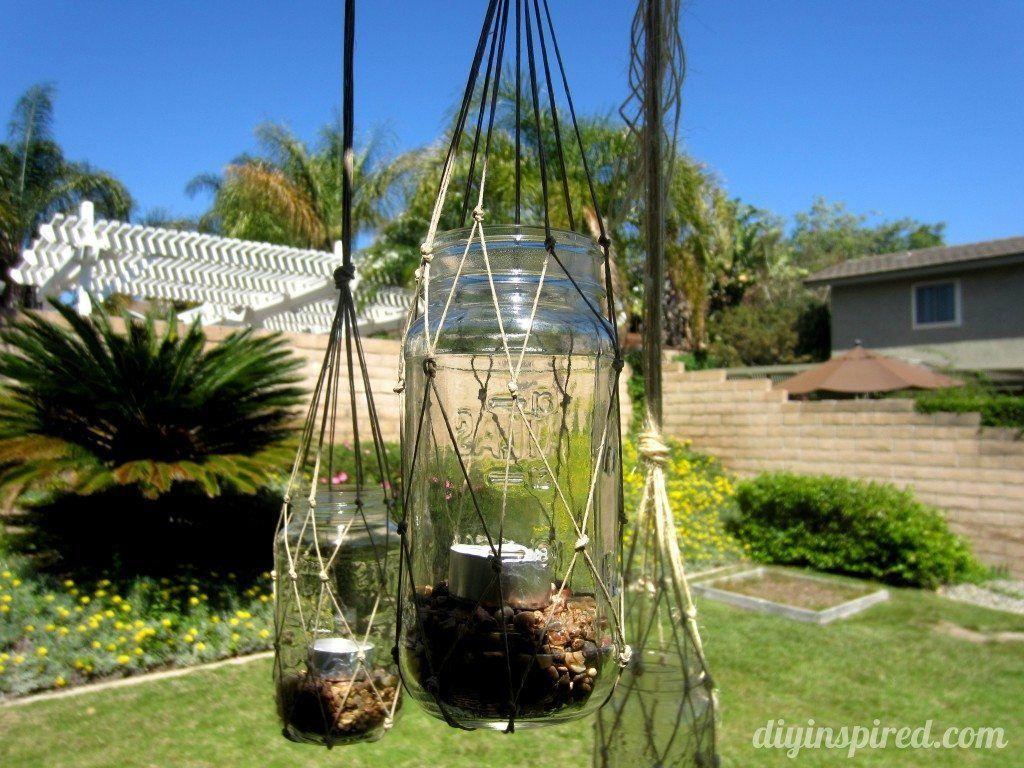 Photo of Recycled Mason Jar Lantern – DIY Inspired