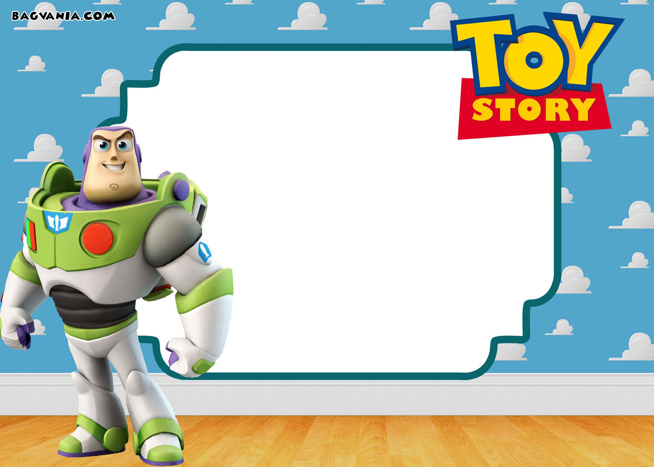 Free FREE Printable Toy Story 3 Birthday Invitations Templates