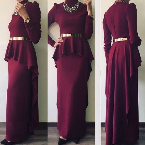 On Trend And Elegant Looks For: Elegant And Modern Hijab Fashion Looks