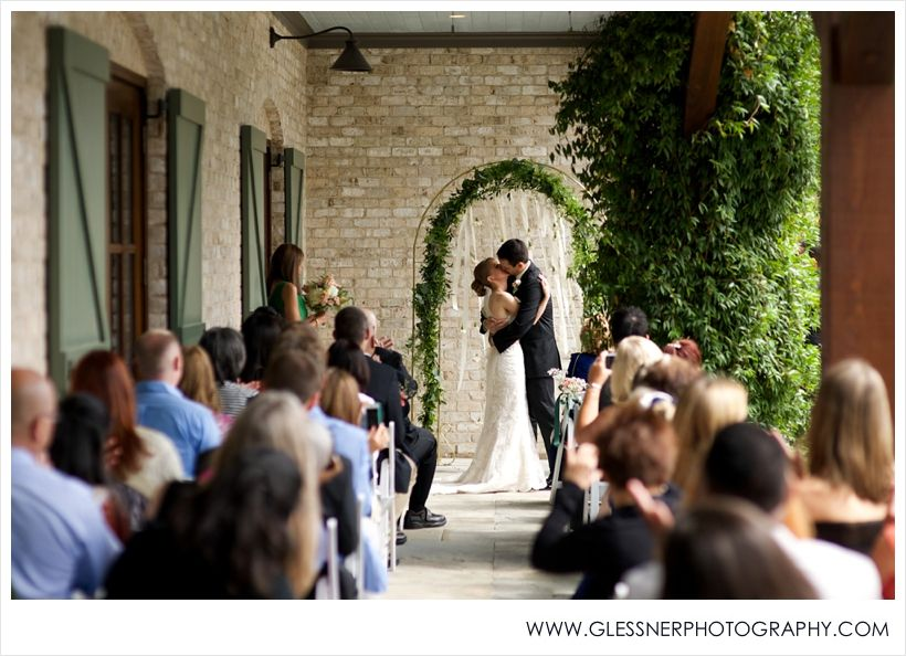 The Ceremony | Chris And Aksanau0027s Garden Wedding At Paul J. Ciener  Botanical Gardens In