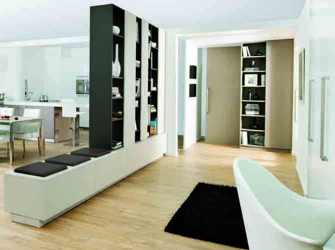 cloisonner sans travaux c est possible deco entr e pinterest small spaces salons and. Black Bedroom Furniture Sets. Home Design Ideas