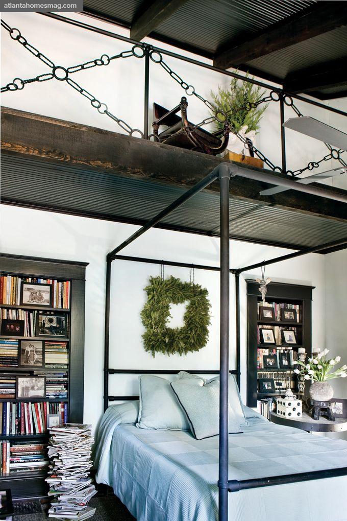 Bengie Jones - Library in the bedroom | Decorar | Pinterest ...