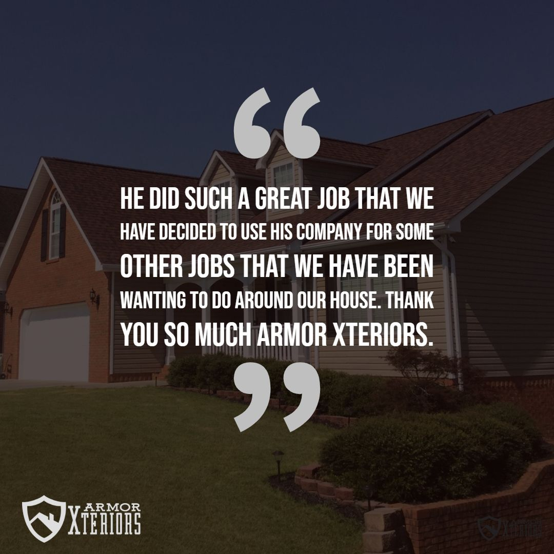 Armor Roofing & Xteriors of Chattanooga Customer Reviews