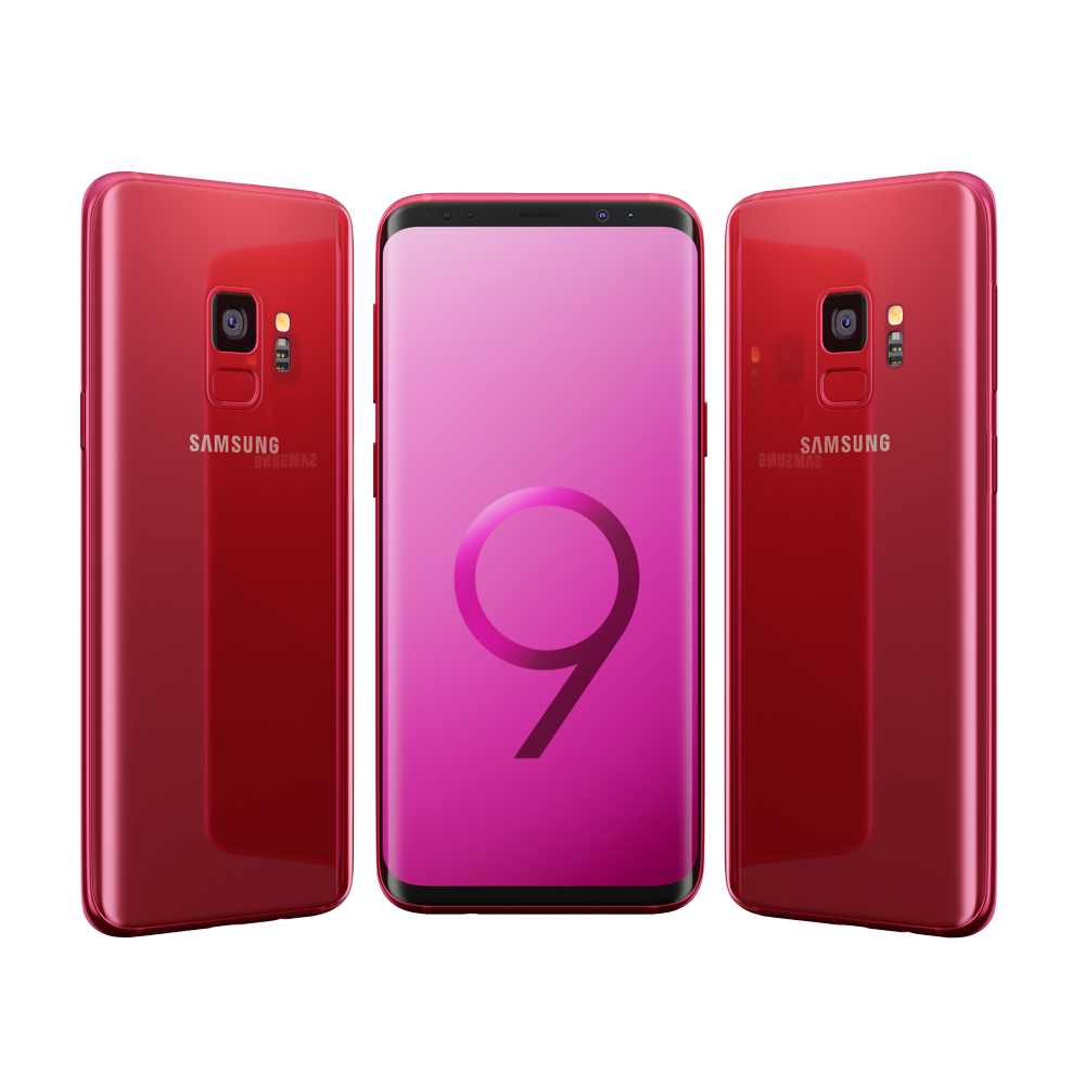 Samsung Galaxy S9 All Colors 2 New Colors Samsung Galaxy Samsung Galaxy S9 Samsung