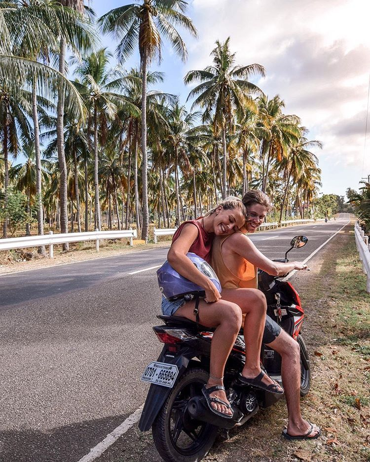 Siquijor Philippines Palm Trees Jungle Paradise Philippines Magical Places Bucket List Goals Couple Goals Beautiful Destinations Motorbikes In Asia