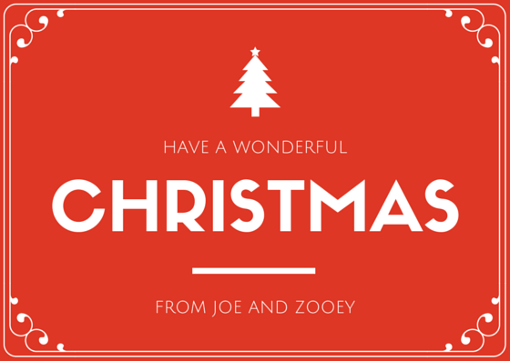 Customize your own Christmas Cards now at Canva To start designing