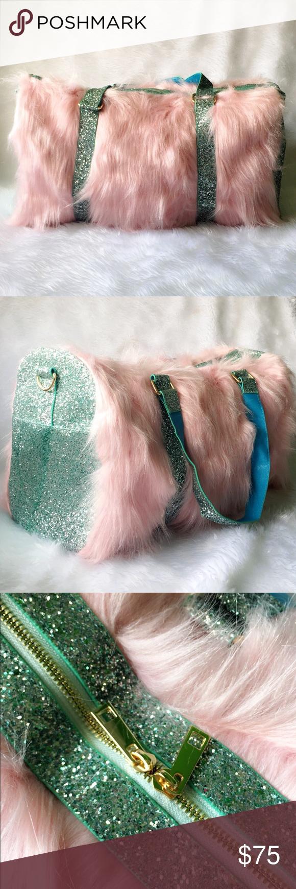 Glitter Unicorn Bag Really soft and glittery bag. Bags
