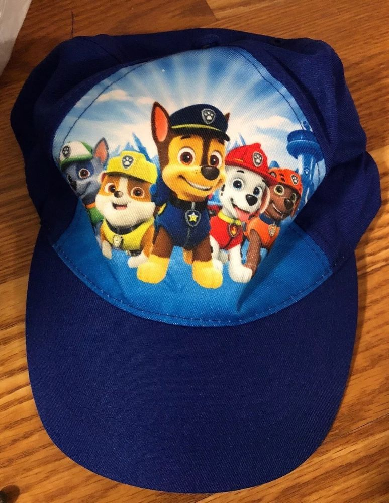 newest 4e0b7 7cd58 Children Hat Nickelodeon Paw Patrol Boys Baseball Cap Toddler New  fashion   clothing  shoes