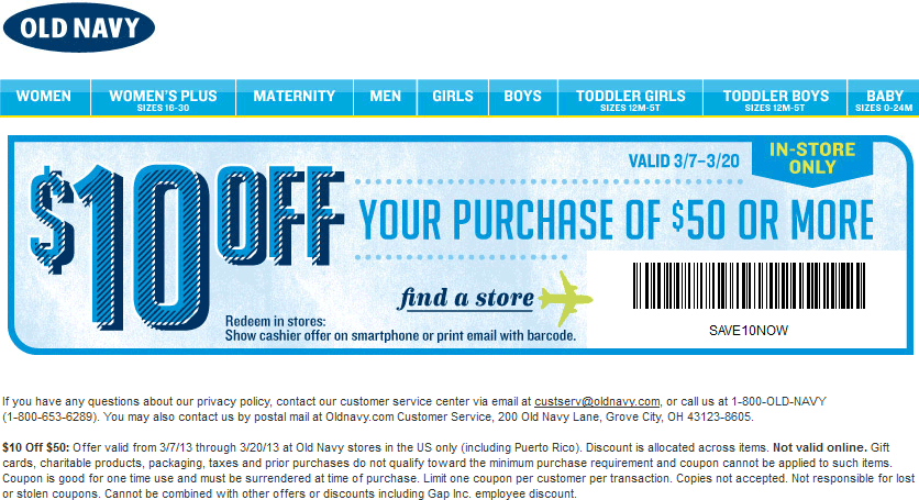 10 Off 50 At Old Navy Coupon Via The Coupons App Coupon Apps Old Navy Coupon Coupons