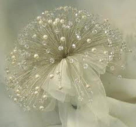 flores com pedraria para noivas - Pesquisa Google