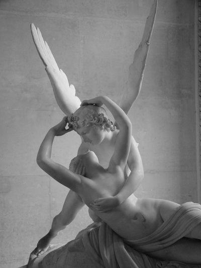 Antonio Canova's Psyche Revived by Cupid's Kiss, 1787