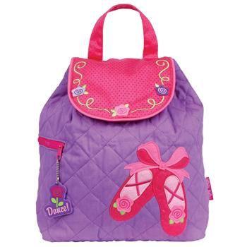 Personalized Stephen Joseph Girls Backpack BALLET DANCE BAG