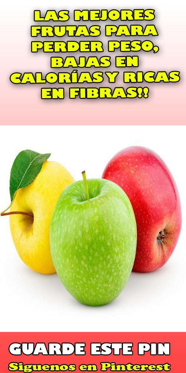 Las mejores frutas para bajar de peso