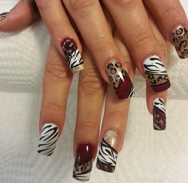 acrylic nails carmen caban