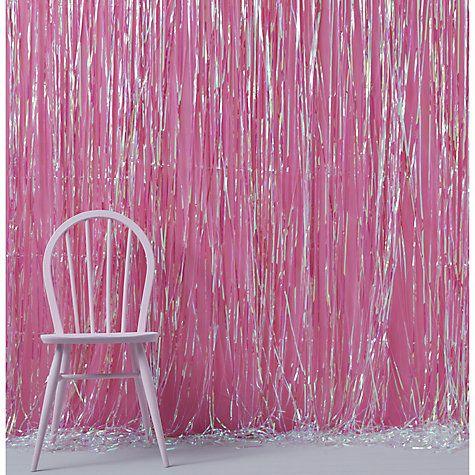 Ginger Ray Iridescent Fringe Curtain Iridescent John lewis and