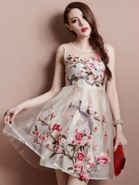 a56e7f88ea1 Cool beautiful summer dresses for ladies 2017-2018