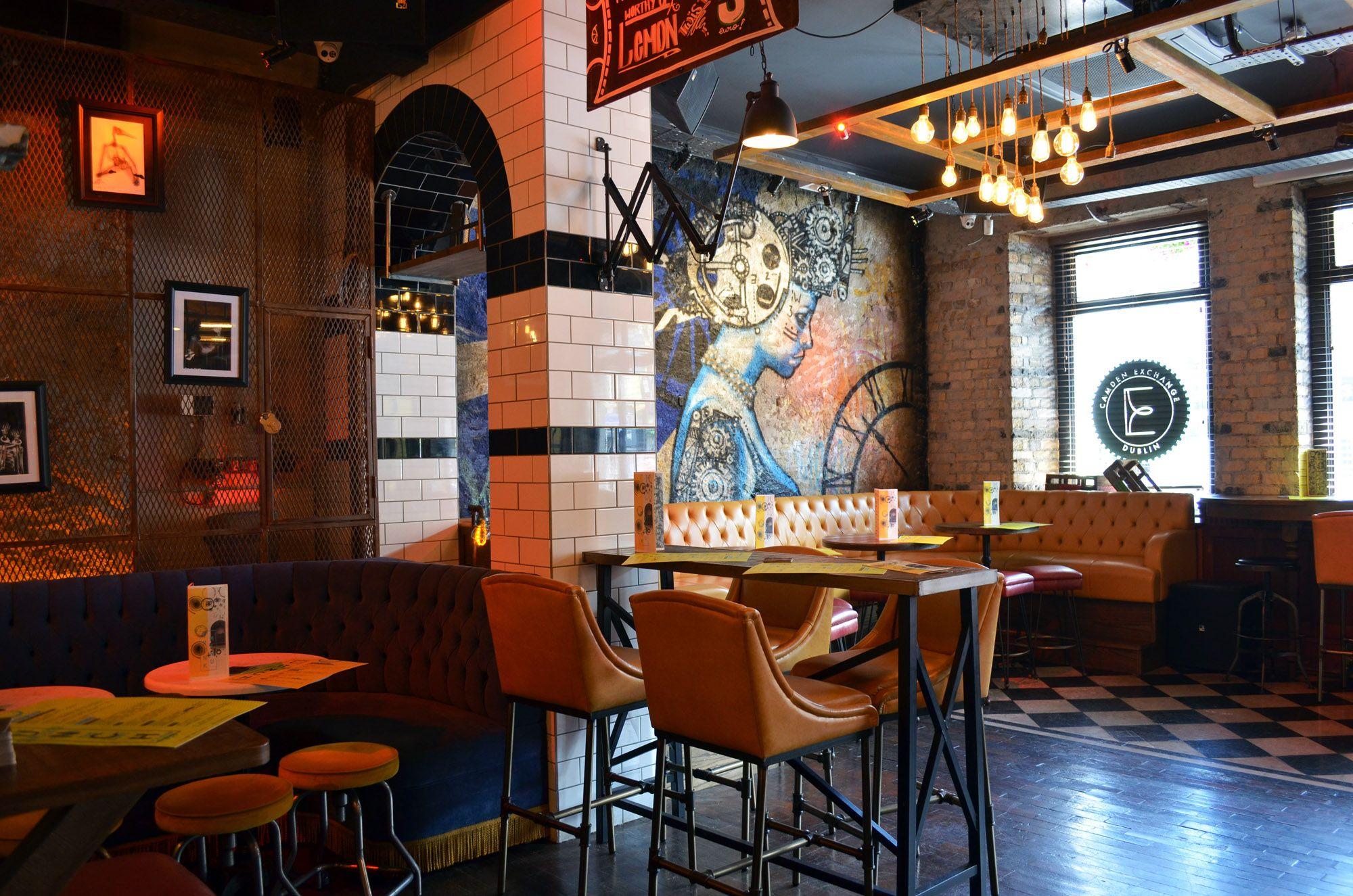 L Estrange Designs The Camden Exchange Bar Design Restaurant