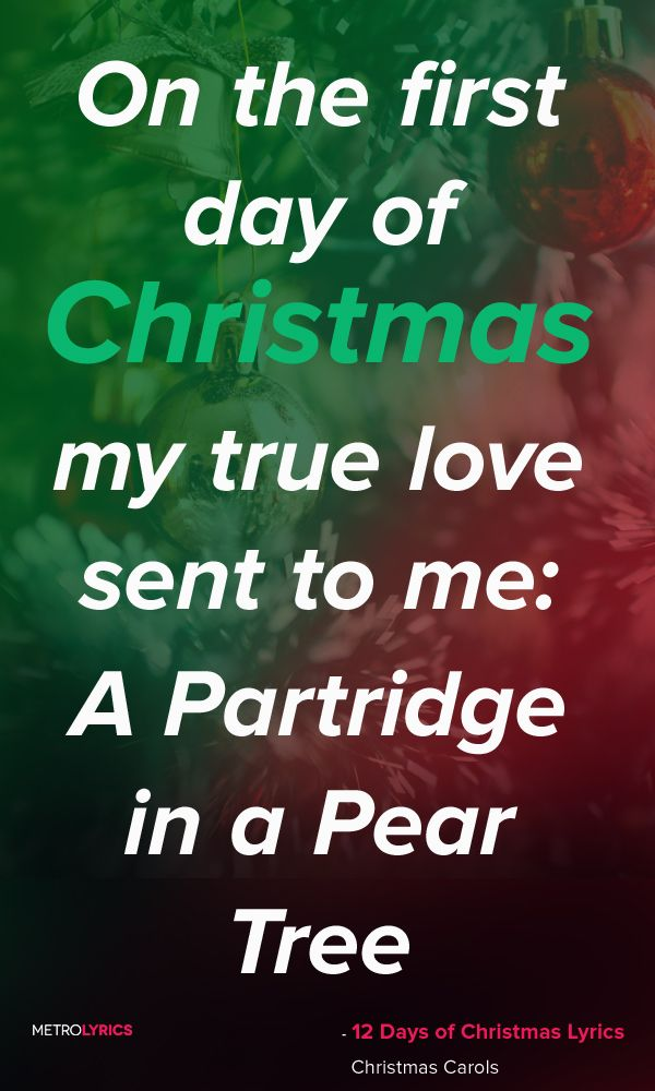 12 Days of Christmas Christmas Song Lyrics and Quotes On the twelfth day of  Christmas my true love sent to me: 12 Drummers Drumming Eleven Pipers  Piping Ten ... - 12 Days Of Christmas Christmas Song Lyrics And Quotes On The Twelfth