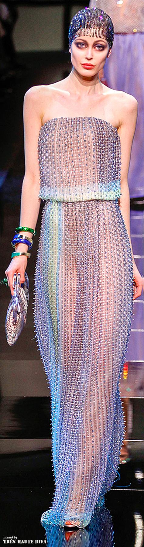 Giorgio Armani Privé Couture Spring 2014   Moda y diseño   Pinterest ...