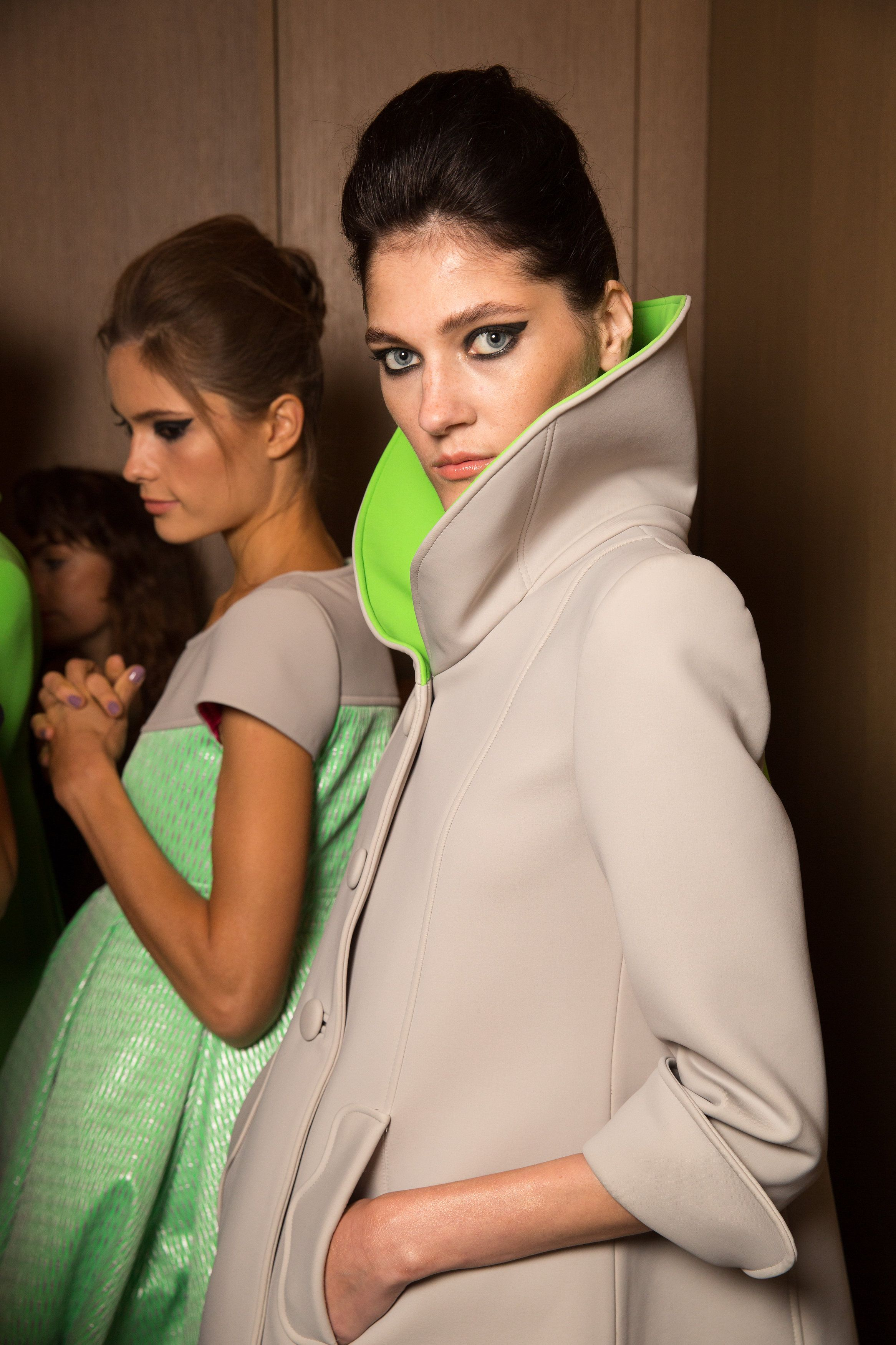 Backstage Paul Costelloe